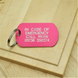 In Case of Emergency ID Tag