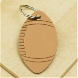 Rugby Dog ID Tag Brown