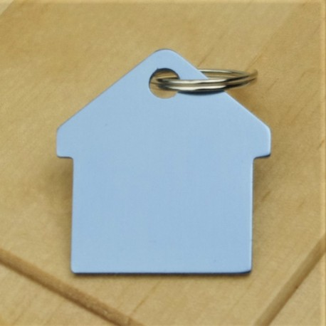 Sky Blue Pet ID Tag Aluminium