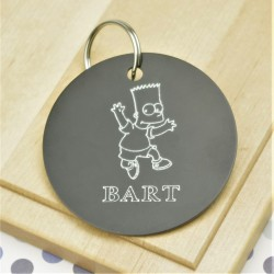 Bart Personalised Tag