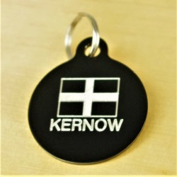 Kernow Cornish Flag Pet Id Tag