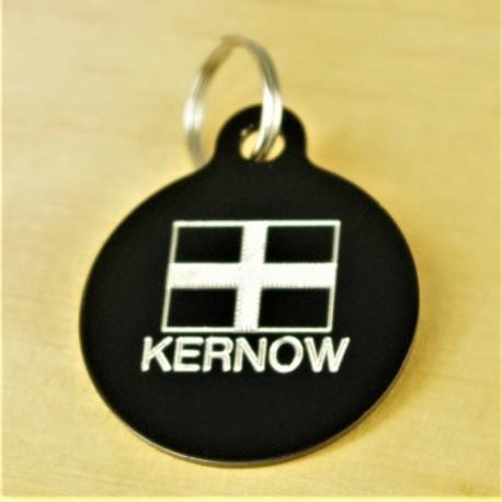 Kernow Cornish Flag Pet Id Tag