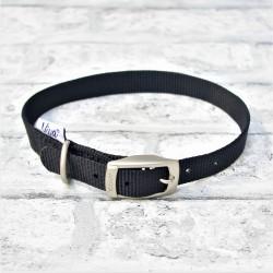 Black Buckle Collar