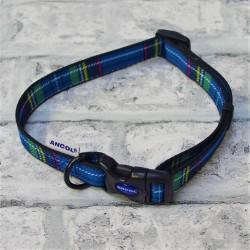 Blue Tartan Westie Collar - By Ancol