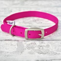 Pink Buckle Collar