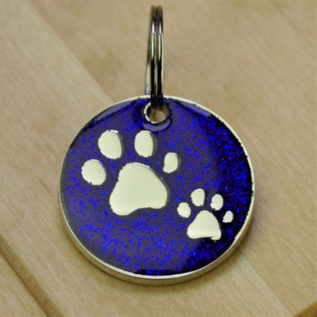 Sparkly Paws Pet Id Tag