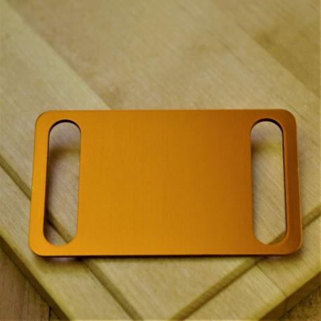 Agility Pet Id Tag Orange Aluminium