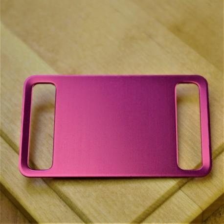 Agility Pet Id Tag Pink Aluminium