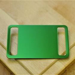 Agility Pet Id Tag Green Aluminium