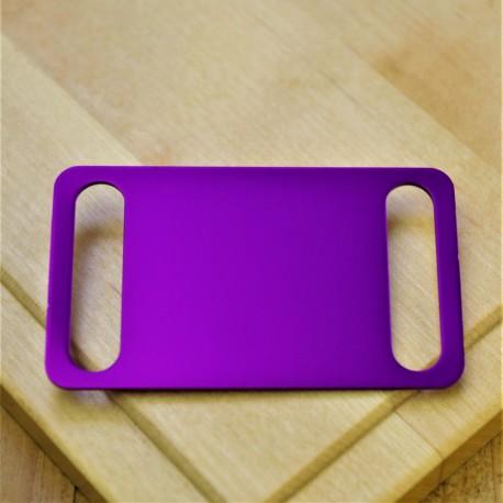 Agility Pet Id Tag Purple Aluminium