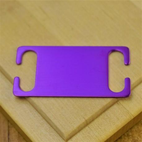 Purple Agility Pet Id Tag Small