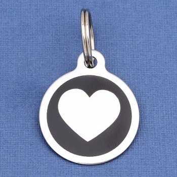 Heart Dog Tags