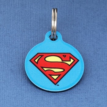Super Hero Dog ID Tags