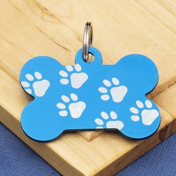 BLUE PET TAGS