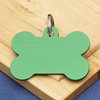 GREEN PET TAGS