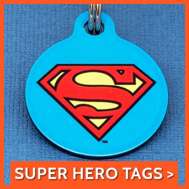 Super Hero Tags